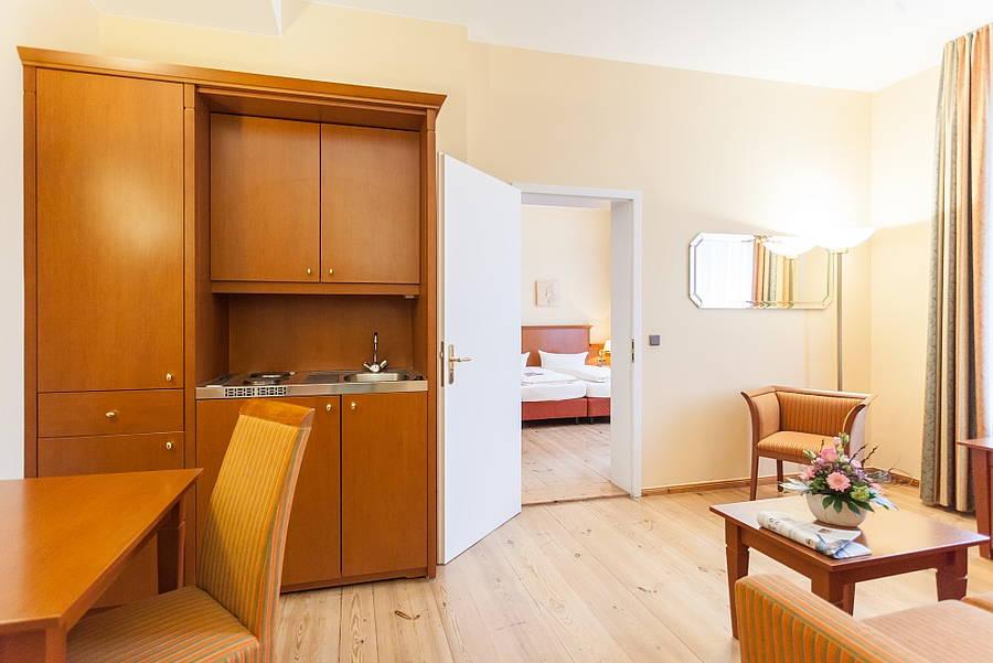 Apartment Augustinenhof Hotel Berlin Mitte