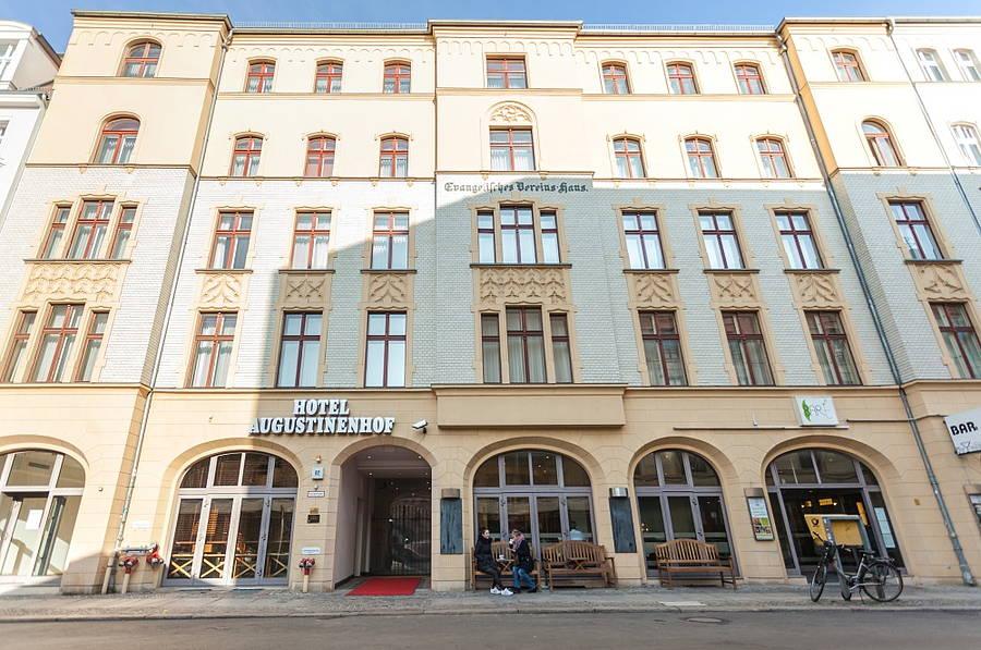 Außenansicht Hotel Augustinenhof Berlin Mitte