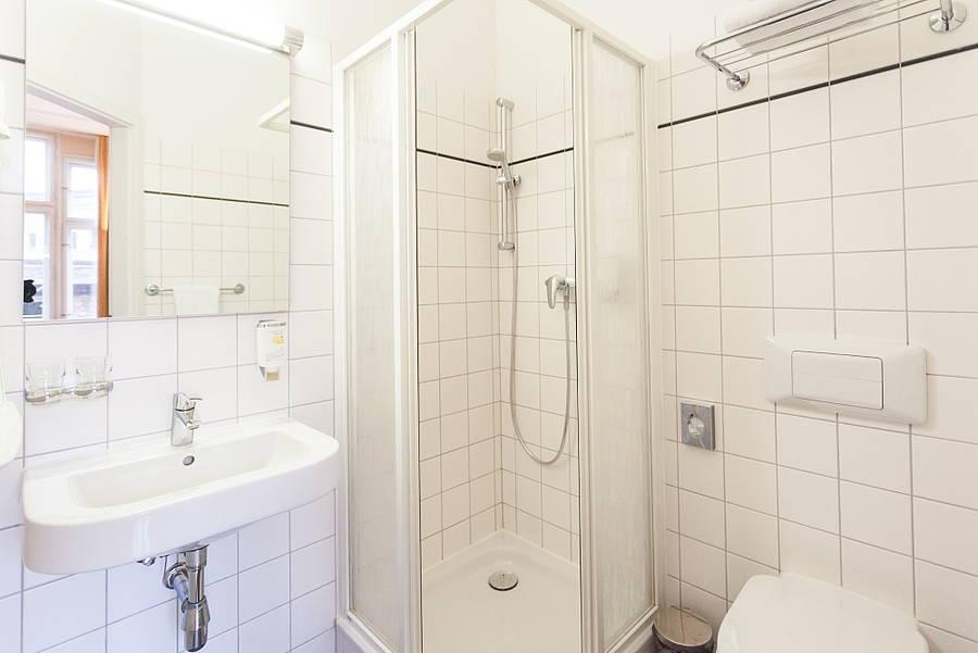 Bathroom Hotel Augustinenhof Berlin Mitte