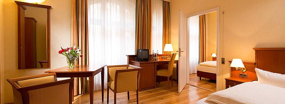 Doppelzimmer in Berlin Mitte Hotel Augustinenhof