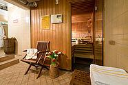 Finnische Sauna im Hotel Augustinenhof in Berlin Mitte