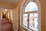 Generous corridor at Hotel Augustinenhof in Berlin-Mitte