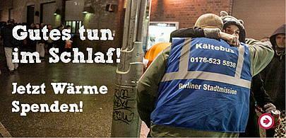 Kältehilfe der Berliner Stadtmission