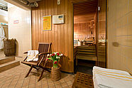 Sauna area of Hotel Augustinenhof
